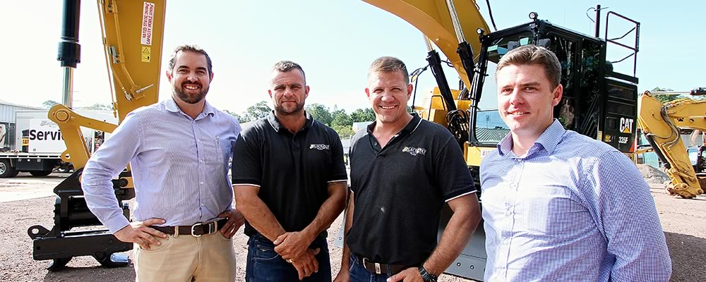 Black Cat Civil discuss the operational benefits of the new Cat F Series Excavator with its cutting edge technology